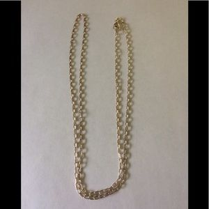 """950 Italy Milor 30"""" Sterling Silver necklace"""